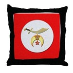 Shriners Throw Pillow