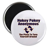 Hokey Pokey Anonymous Magnet