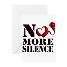 No More Silence Greeting Cards (Pk of 10)