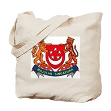 Singapore Coat of Arms Tote Bag