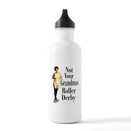 Grandma Roller Derby Stainless Water Bottle 1.0L