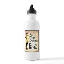 Not Your Grandmas Roller Derby Water Bottle