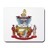 Nepal Coat of Arms Mousepad