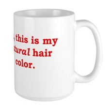 Natural Redhead Large Mug
