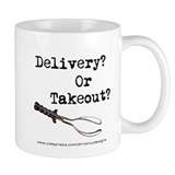 Delivery? Or Takout? Mug