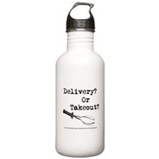 Delivery? Or Takout? Water Bottle