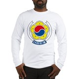 South Korean Coat of Arms Long Sleeve T-Shirt