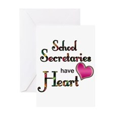 Cute School administrator Greeting Card