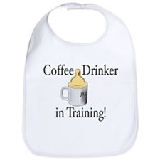 Coffee Drinker in Training Bib
