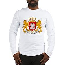 Georgia Coat of Arms Long Sleeve T-Shirt