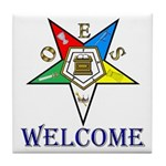OES Welcome Tile Coaster