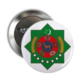 "Turkmenistan Coat of Arms 2.25"" Button (10 pack)"