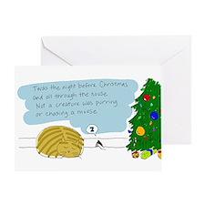 Kitty & Mouse Christmas Card