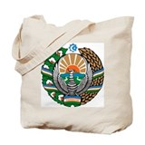 Uzbekistan Coat of Arms Tote Bag