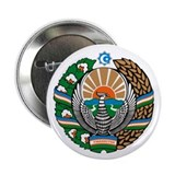 "Uzbekistan Coat of Arms 2.25"" Button (10 pack)"