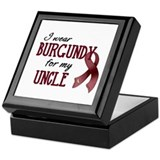 Wear Burgundy - Uncle Keepsake Box