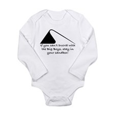 Dune with Big Boys Long Sleeve Infant Bodysuit