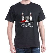 All Talk No Turkey Logo 15 T-Shirt Design Fro