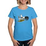 Yokohama Duckwing Chickens Women's Dark T-Shirt