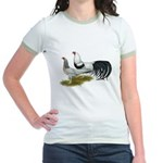 Yokohama Duckwing Chickens Jr. Ringer T-Shirt