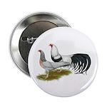 "Yokohama Duckwing Chickens 2.25"" Button"
