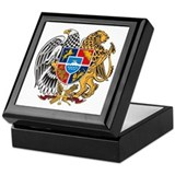 Armenian Coat of Arms Keepsake Box