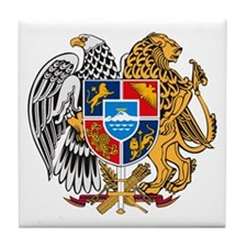 Armenian Coat of Arms Tile Coaster