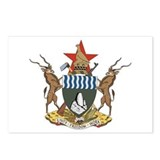Zimbabwe Coat of Arms Postcards (Package of 8)