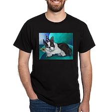Late Night Black T-Shirt