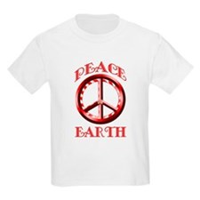 Candy Cane Peace on Earth T-Shirt