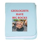 geology gifts t-shirts Infant Blanket