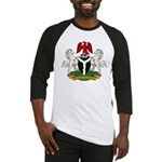 Nigerian Coat of Arms Baseball Jersey
