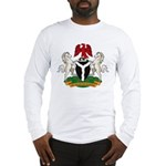 Nigerian Coat of Arms Long Sleeve T-Shirt