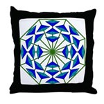 Eclectic Flower 361 Throw Pillow