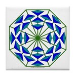 Eclectic Flower 361 Tile Coaster