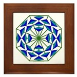 Eclectic Flower 361 Framed Tile