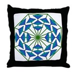 Eclectic Flower 362 Throw Pillow