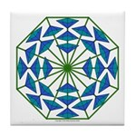 Eclectic Flower 362 Tile Coaster
