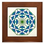 Eclectic Flower 362 Framed Tile