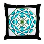 Eclectic Flower 363 Throw Pillow