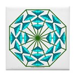 Eclectic Flower 363 Tile Coaster