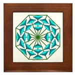 Eclectic Flower 363 Framed Tile