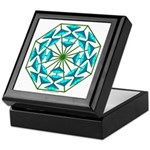 Eclectic Flower 363 Keepsake Box