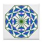Eclectic Flower 364 Tile Coaster