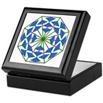 Eclectic Flower 364 Keepsake Box