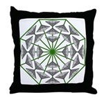 Eclectic Flower 365 Throw Pillow