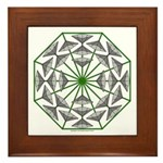 Eclectic Flower 365 Framed Tile