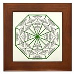 Eclectic Flower 366 Framed Tile