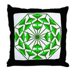 Eclectic Flower 367 Throw Pillow
