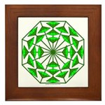 Eclectic Flower 367 Framed Tile